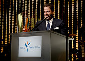 Honoree Brett Ratner accepts the Humanitarian Award onstage during the Venice Family Clinic Silver Circle Gala 2016 honoring Brett Ratner and Bill...