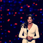 Honoree Caitlyn Jenner accepts the Arthur Ashe Award For Courage onstage during The 2015 ESPYS at Microsoft Theater on July 15 2015 in Los Angeles...