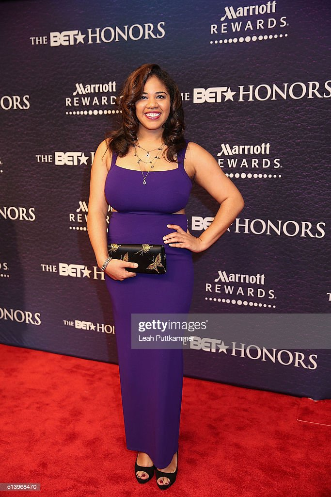 Honoree Candace V Mitchell attends the BET Honors 2016 at Warner Theatre on March 5 2016 in Washington DC