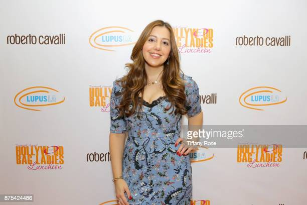 Honoree Cara Dellavers at Lupus LA's Hollywood Bag Ladies Luncheon at The Beverly Hilton Hotel on November 17 2017 in Beverly Hills California