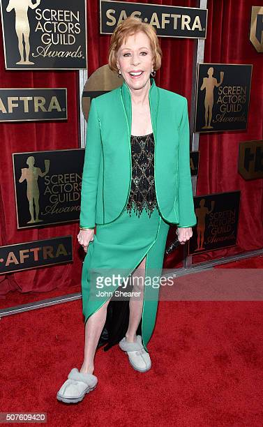 Honoree Carol Burnett attends the 22nd Annual Screen Actors Guild Awards at The Shrine Auditorium on January 30 2016 in Los Angeles California