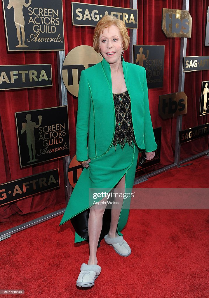 Honoree Carol Burnett attends the 22nd Annual Screen Actors Guild Awards at The Shrine Auditorium on January 30, 2016 in Los Angeles, California.