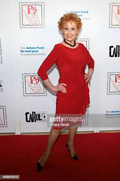 Honoree Carol Lawrence attends the 28th Annual Gypsy Awards Luncheon at The Beverly Hilton Hotel on March 29 2015 in Beverly Hills California