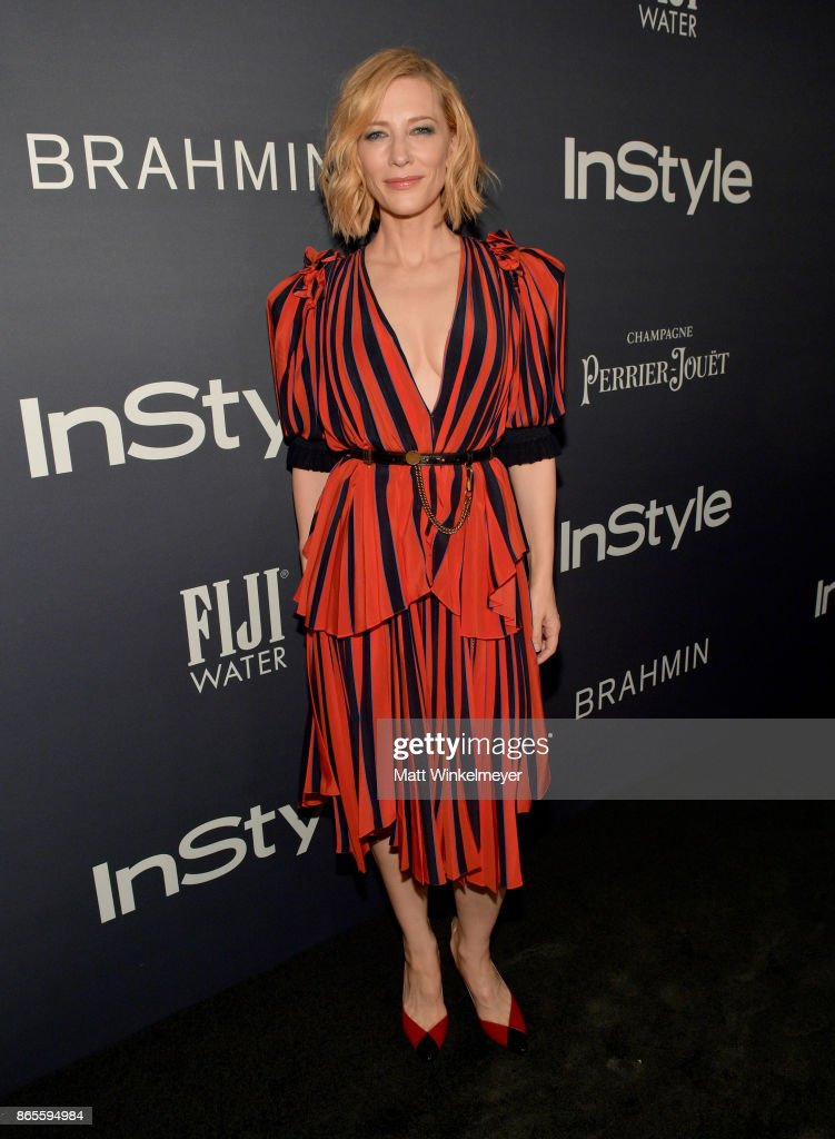 Honoree Cate Blanchett attends the Third Annual 'InStyle Awards' presented by InStyle at The Getty Center on October 23, 2017 in Los Angeles, California.