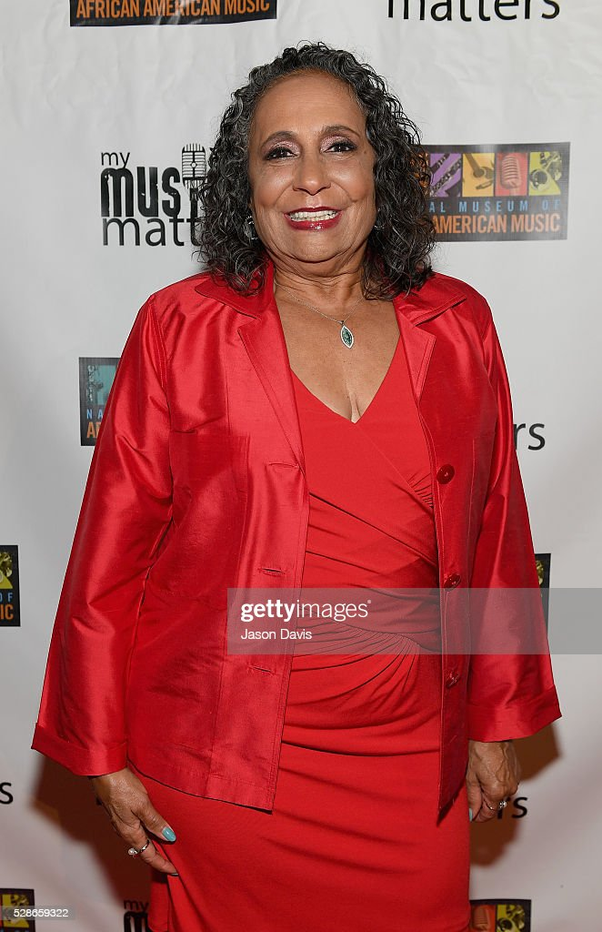 Honoree Cathy Hughes, TV One/Radio One Chairman attends NMAAM's Celebration Of Legends Red Carpet And Luncheon on May 6, 2016 in Nashville, Tennessee.