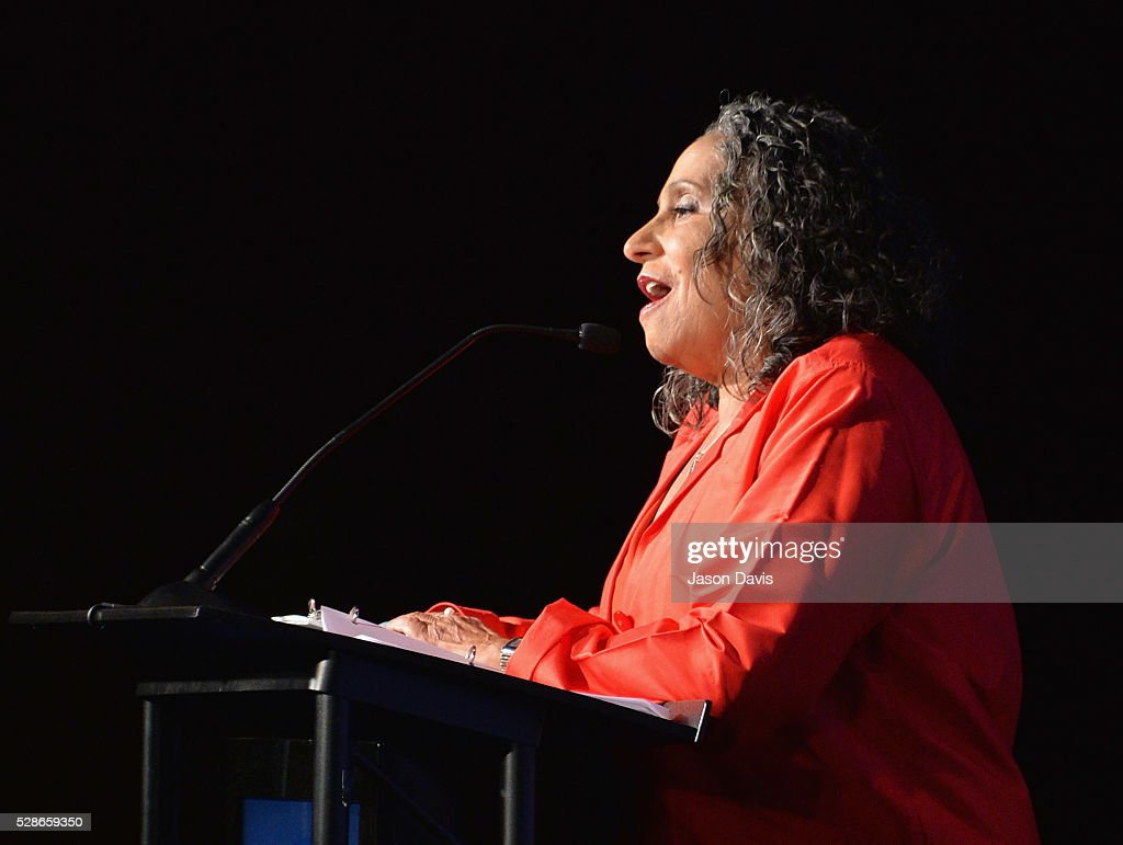 Honoree Cathy Hughes, TV One/Radio One Chairman speaks onstage during NMAAM's Celebration Of Legends Red Carpet And Luncheon on May 6, 2016 in Nashville, Tennessee.