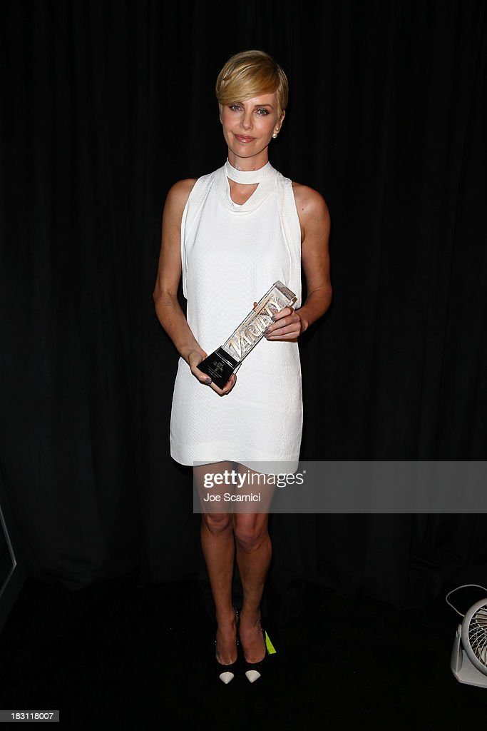 Honoree <a gi-track='captionPersonalityLinkClicked' href=/galleries/search?phrase=Charlize+Theron&family=editorial&specificpeople=171250 ng-click='$event.stopPropagation()'>Charlize Theron</a> attends Variety's 5th Annual Power of Women event presented by Lifetime at the Beverly Wilshire Four Seasons Hotel on October 4, 2013 in Beverly Hills, California.