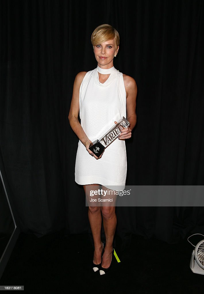 Honoree Charlize Theron attends Variety's 5th Annual Power of Women event presented by Lifetime at the Beverly Wilshire Four Seasons Hotel on October 4, 2013 in Beverly Hills, California.