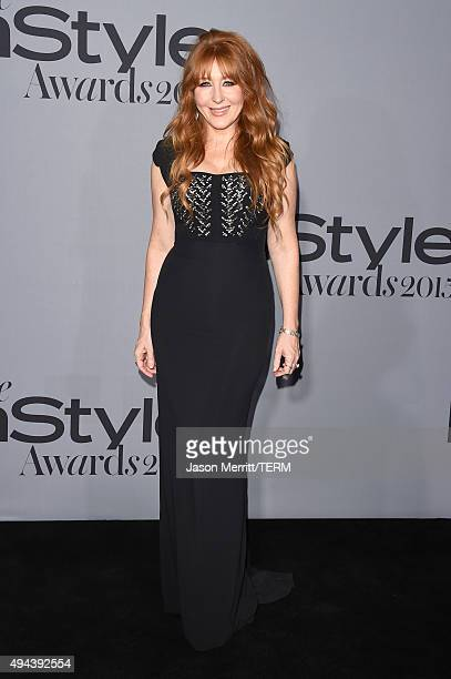 Honoree Charlotte Tilbury attends the InStyle Awards at Getty Center on October 26 2015 in Los Angeles California
