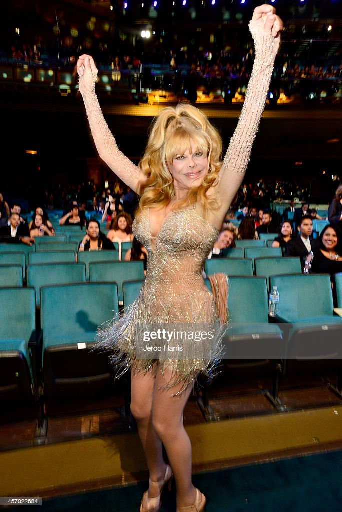 Honoree Charo attends the 2014 NCLR ALMA Awards at the Pasadena Civic Auditorium on October 10 2014 in Pasadena California