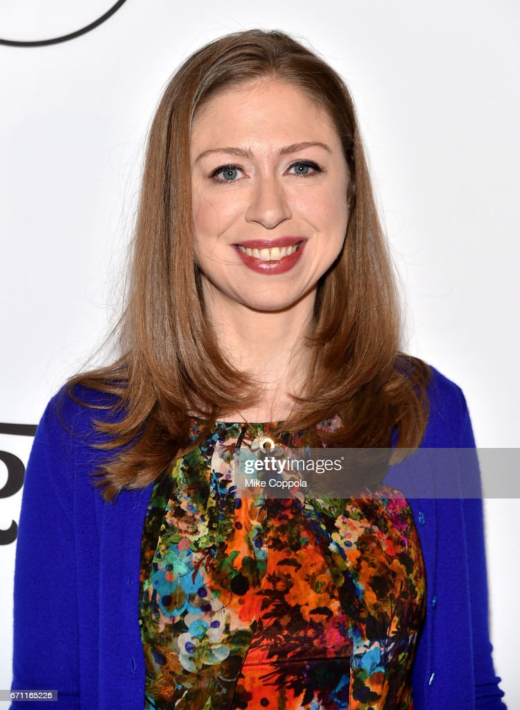 Honoree Chelsea Clinton attends Variety's Power Of Women: New York at Cipriani Midtown on April 21, 2017 in New York City.
