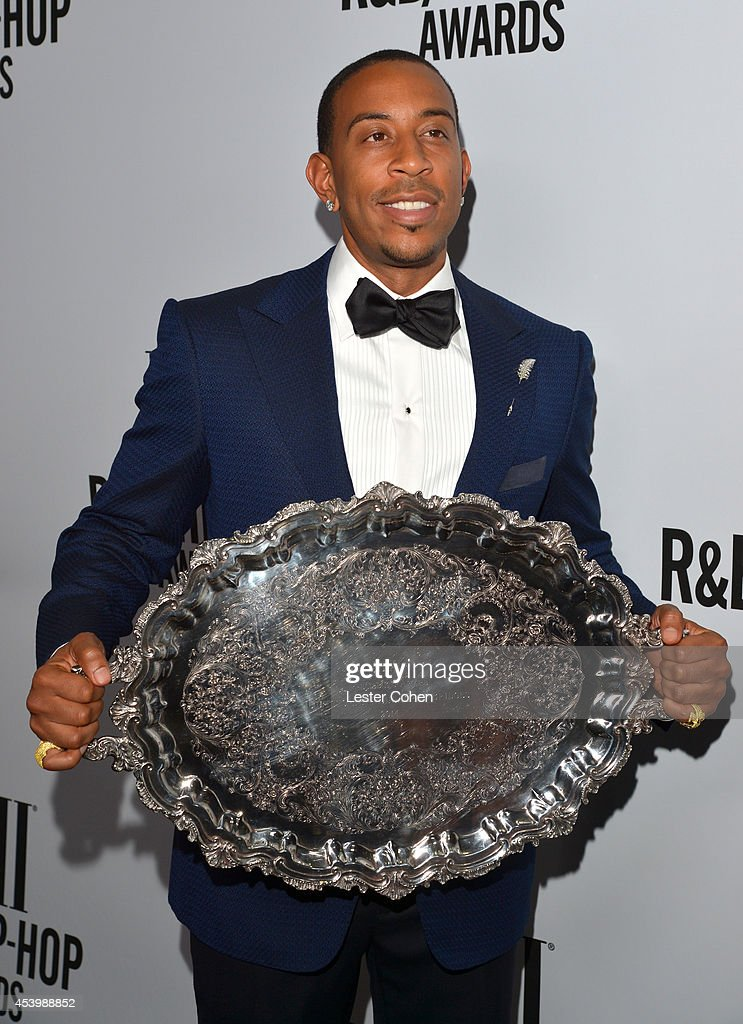 Honoree Chris '<a gi-track='captionPersonalityLinkClicked' href=/galleries/search?phrase=Ludacris&family=editorial&specificpeople=203034 ng-click='$event.stopPropagation()'>Ludacris</a>' Bridges (holding the BMI President's Award) attends the 2014 BMI R&B/Hip-Hop Awards at the Pantages Theatre on August 22, 2014 in Hollywood, California.