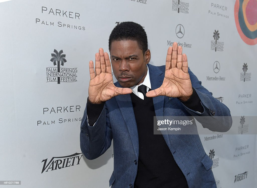 Honoree <a gi-track='captionPersonalityLinkClicked' href=/galleries/search?phrase=Chris+Rock&family=editorial&specificpeople=202982 ng-click='$event.stopPropagation()'>Chris Rock</a> attends Variety's Creative Impact Awards and '10 Directors To Watch' brunch presented by Mercedes Benz at Parker Palm Springs on January 4, 2015 in Palm Springs, California.