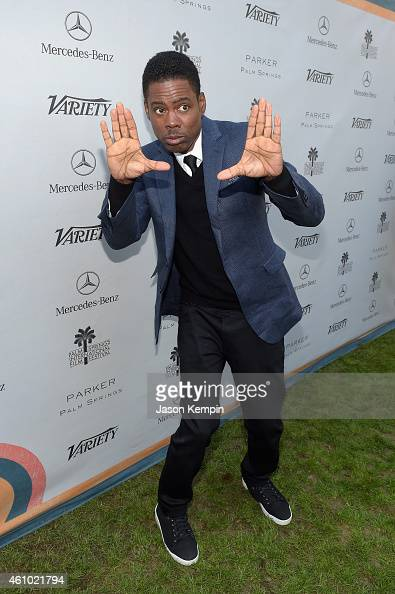 Honoree Chris Rock attends Variety's Creative Impact Awards and '10 Directors To Watch' brunch presented by Mercedes Benz at Parker Palm Springs on...