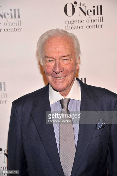 Honoree Christopher Plummer attends the 13th annual Monte Cristo Awards at The Edison Ballroom on April 15 2013 in New York City