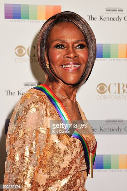 Honoree Cicely Tyson arrives at the 38th Annual Kennedy Center Honors Gala at the Kennedy Center for the Performing Arts on December 6 2015 in...