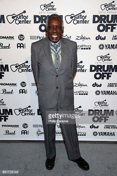 Honoree Clyde Stubblefield attends Guitar Center's 28th Annual DrumOff Finals Event at The Novo by Microsoft on January 14 2017 in Los Angeles...
