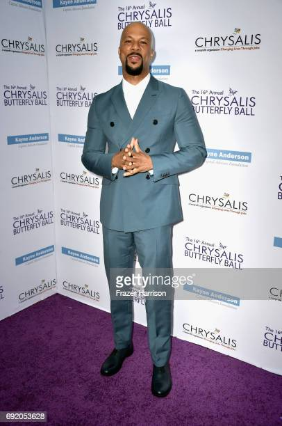 Honoree Common attends the 16th Annual Chrysalis Butterfly Ball at Private Residence on June 3 2017 in Brentwood California