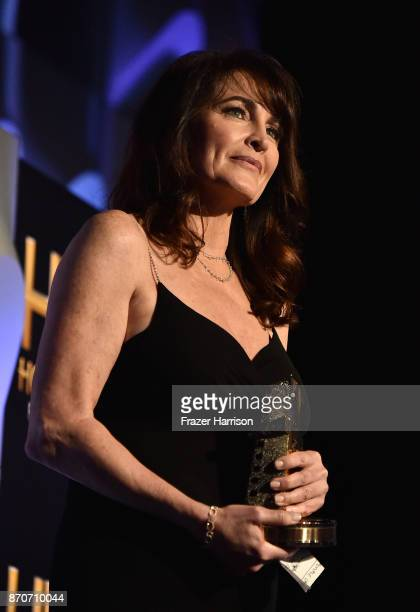 Honoree Cynthia Sikes Yorkin accepts the Hollywood Producer Award for 'Blade Runner 2049' onstage at the 21st Annual Hollywood Film Awards at The...