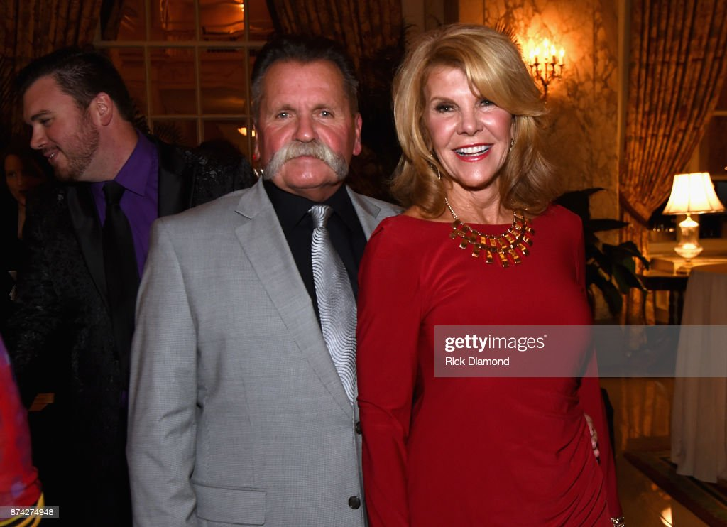 Honoree David Corlew and Caroline Corlew attend the 2017 NATD Honors Gala at Hermitage Hotel on November 14, 2017 in Nashville, Tennessee.