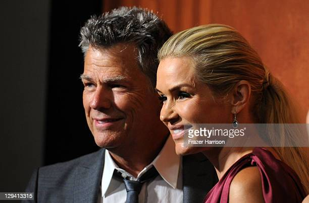Honoree David Foster and Yolanda Hadid attend the 59th Annual BMI Pop Awards at the Beverly Wilshire Four Seasons Hotel on May 17 2011 in Beverly...