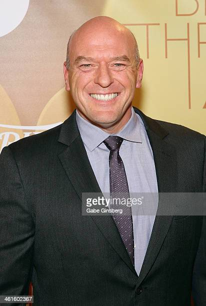 Honoree Dean Norris attends the Variety Breakthrough of the Year Awards during the 2014 International CES at The Las Vegas Hotel Casino on January 9...