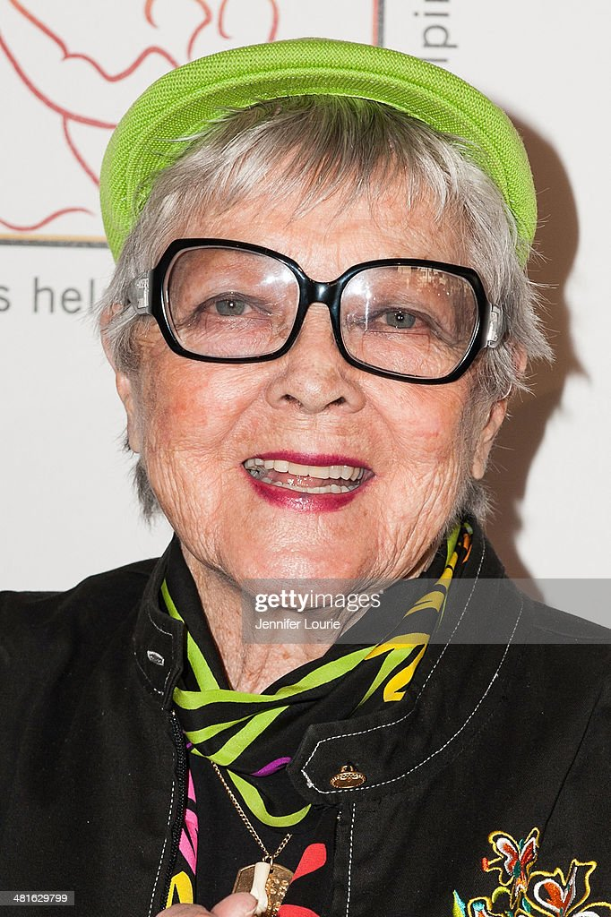 Honoree Dee Dee Wood arrives at the Professional Dancers Society's 27th Annual Gypsy Award Luncheon hosted at The Beverly Hilton Hotel on March 30, 2014 in Beverly Hills, California.