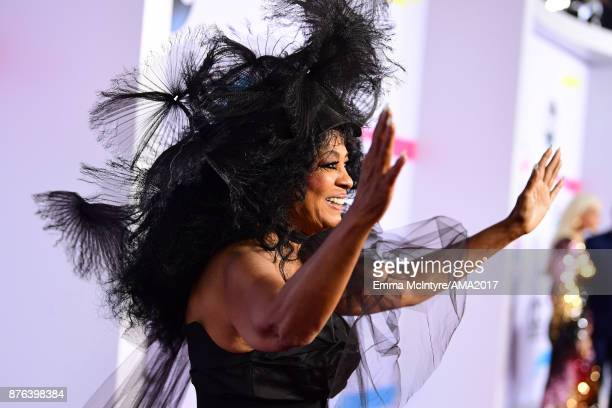 Honoree Diana Ross attends the 2017 American Music Awards at Microsoft Theater on November 19 2017 in Los Angeles California