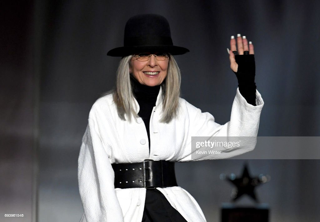 Honoree Diane Keaton accepts the AFI Life Achievement Award onstage during American Film Institute's 45th Life Achievement Award Gala Tribute to Diane Keaton at Dolby Theatre on June 8, 2017 in Hollywood, California. 26658_007