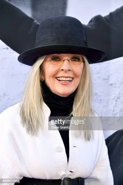 Honoree Diane Keaton arrives at the AFI Life Achievement Award Gala Tribute to Diane Keaton at Dolby Theatre on June 8 2017 in Hollywood California