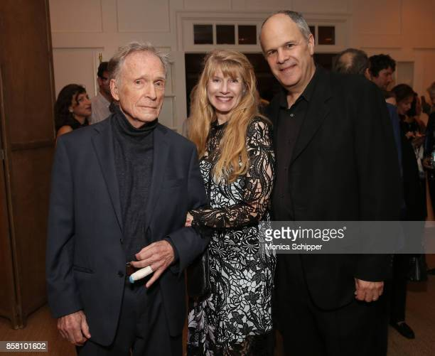Honoree Dick Cavett Martha Rogers and Michael Kantor attend the Opening Night Party during Hamptons International Film Festival 2017 Day One on...
