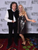 Honoree Donavan and April Anderson attend the Songwriters Hall of Fame 45th Annual Induction And Awards at Marriott Marquis Theater on June 12 2014...