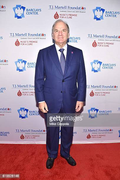 Honoree Dr Mitchell Benson attends TJ Martell Foundation's 41st Annual Honors Gala at Gustavino's on October 18 2016 in New York City