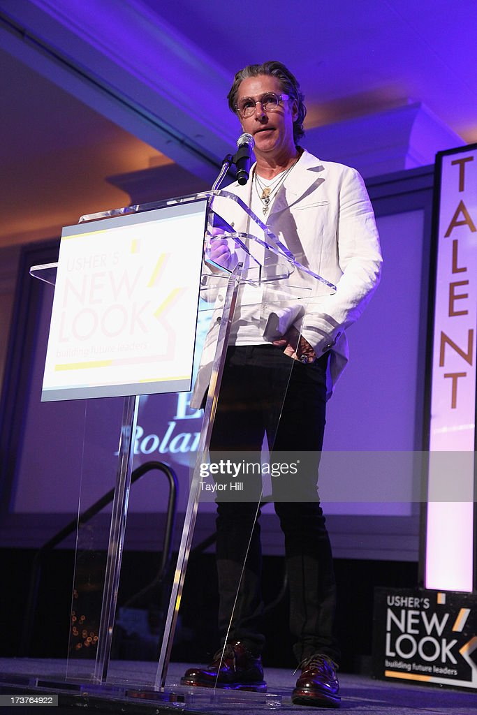 Honoree <a gi-track='captionPersonalityLinkClicked' href=/galleries/search?phrase=Ed+Roland+-+Musician&family=editorial&specificpeople=2123432 ng-click='$event.stopPropagation()'>Ed Roland</a> speaks at the Usher's New Look's 2013 President's Circle Awards Luncheon at St. Regis Atlanta on July 17, 2013 in Atlanta, Georgia.