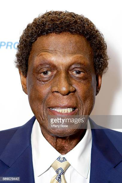 Honoree Elgin Baylor attends the 16th Annual Harold Carole Pump Foundation Gala at The Beverly Hilton Hotel on August 12 2016 in Beverly Hills...