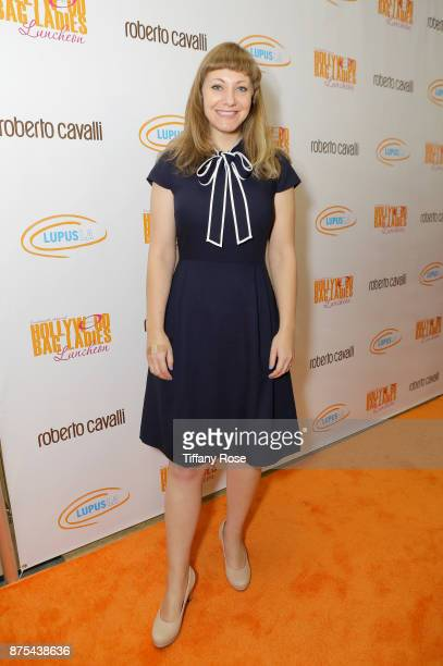 Honoree Emily V Gordon at Lupus LA's Hollywood Bag Ladies Luncheon at The Beverly Hilton Hotel on November 17 2017 in Beverly Hills California