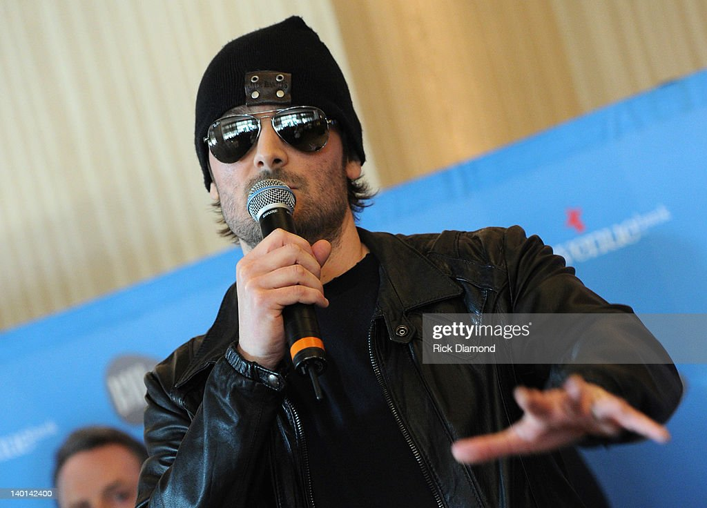 Honoree <a gi-track='captionPersonalityLinkClicked' href=/galleries/search?phrase=Eric+Church&family=editorial&specificpeople=619568 ng-click='$event.stopPropagation()'>Eric Church</a> at BMI's #1 Party For <a gi-track='captionPersonalityLinkClicked' href=/galleries/search?phrase=Eric+Church&family=editorial&specificpeople=619568 ng-click='$event.stopPropagation()'>Eric Church</a>'s 'Drink In My Hand' at BMI on February 28, 2012 in Nashville, Tennessee.