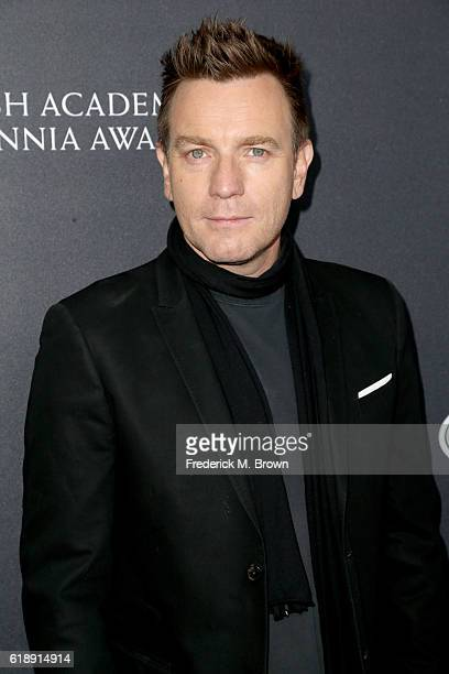 Honoree Ewan McGregor attends the 2016 AMD British Academy Britannia Awards presented by Jaguar Land Rover and American Airlines at The Beverly...
