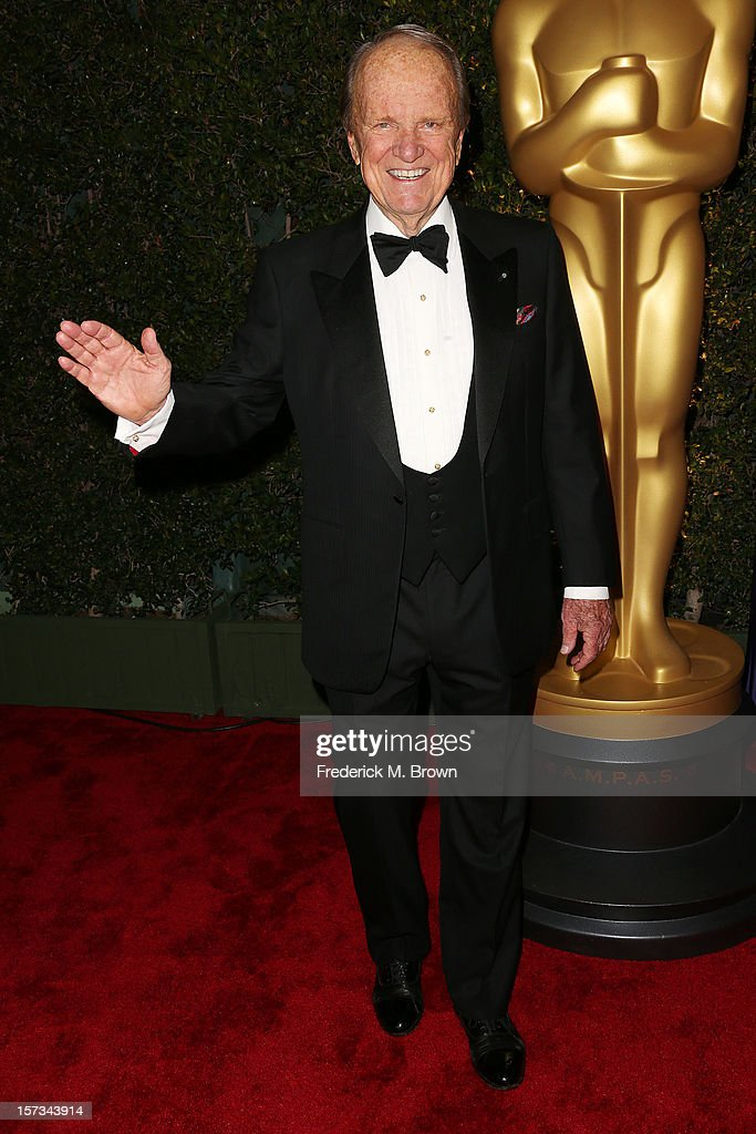 Honoree George Stevens Jr., attends the Academy Of Motion Picture Arts And Sciences' 4th Annual Governors Awards at Hollywood and Highland on December 1, 2012 in Hollywood, California.