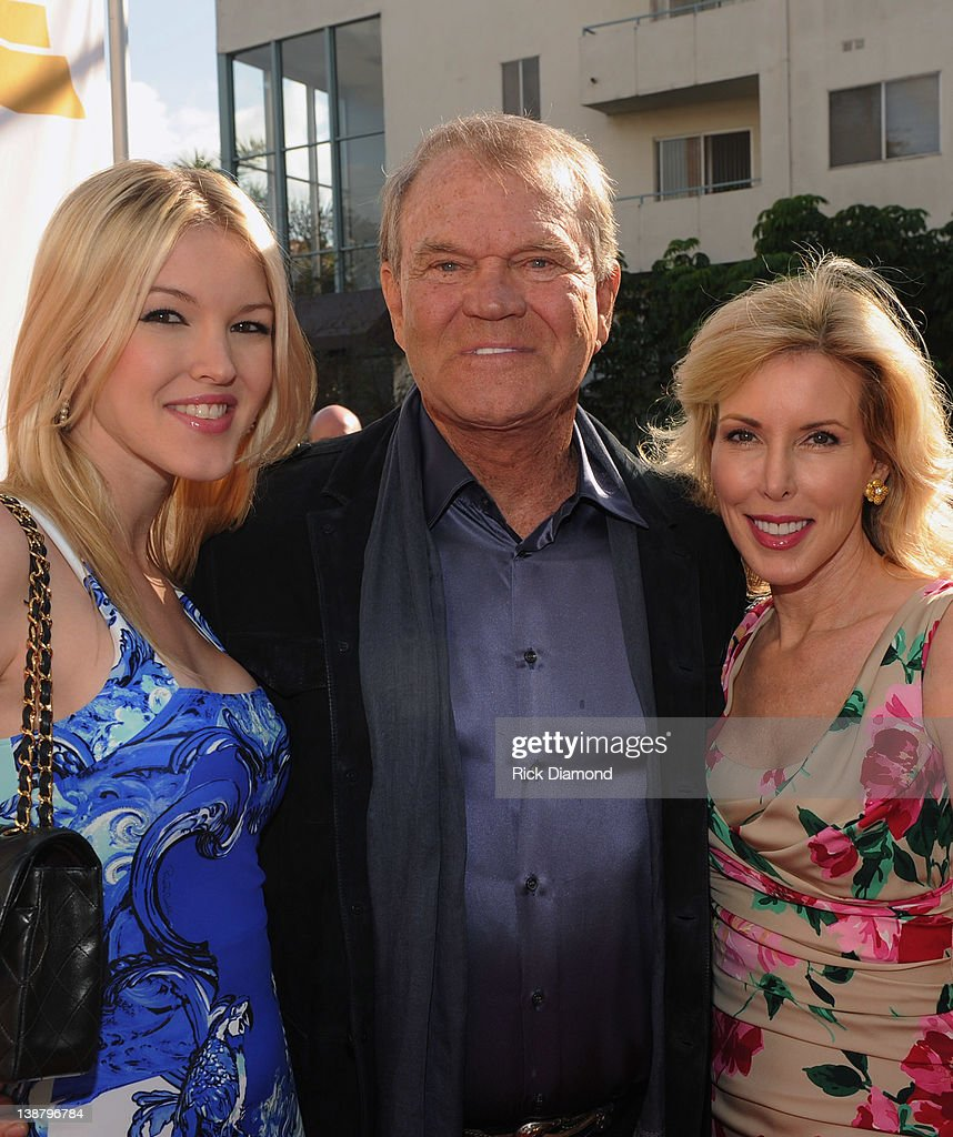 Honoree Glen Campbell & family attend The 54th Annual GRAMMY Awards - Special Merit Awards Ceremony And Nominee Reception at The Wilshire Ebell Theatre on February 11, 2012 in Los Angeles, California.