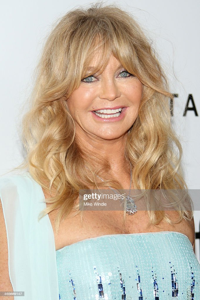 Honoree <a gi-track='captionPersonalityLinkClicked' href=/galleries/search?phrase=Goldie+Hawn&family=editorial&specificpeople=171422 ng-click='$event.stopPropagation()'>Goldie Hawn</a> attends the 2013 amfAR Inspiration Gala Los Angeles at Milk Studios on December 12, 2013 in Los Angeles, California.
