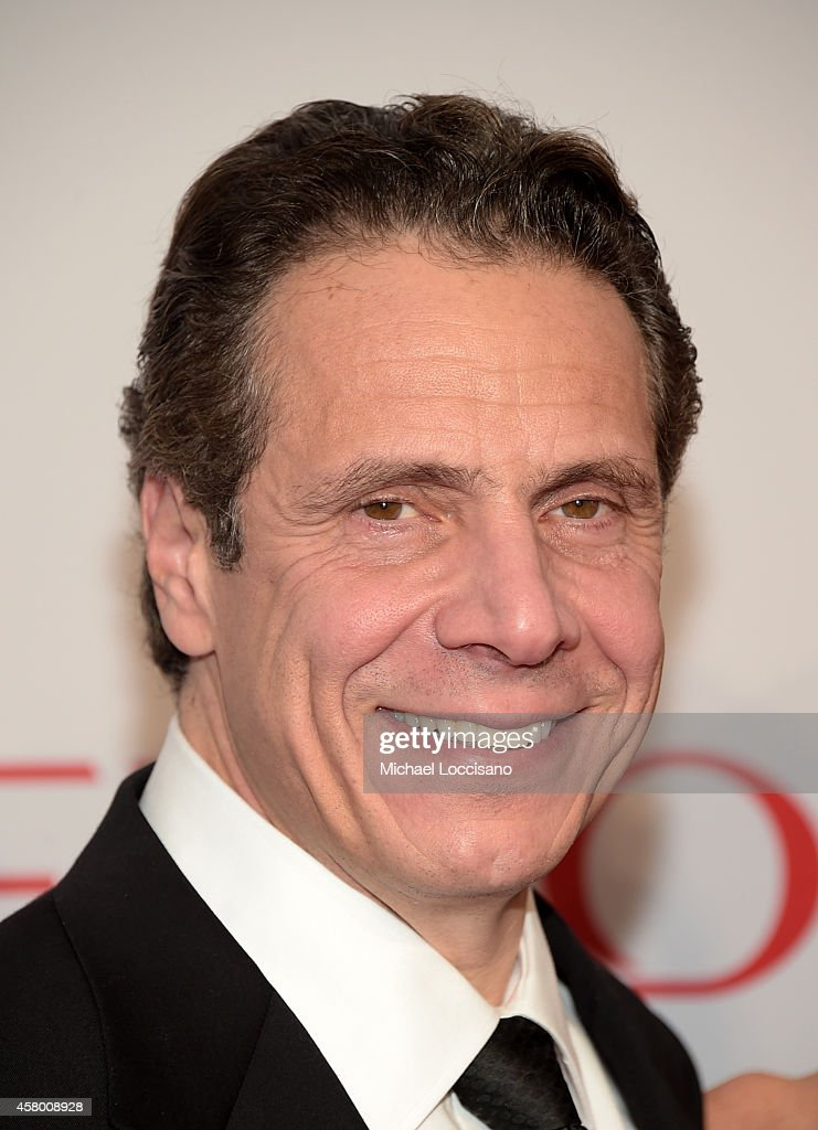Honoree governor Andrew M Cuomo attends the Elton John AIDS Foundation's 13th Annual An Enduring Vision Benefit at Cipriani Wall Street on October 28...