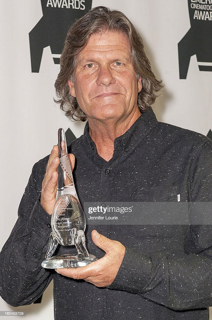 Honoree Guy Skinner attends The International Cinematographers Guild's 17th Annual Emerging Cinematographer Awards at Directors Guild Of America on September 29, 2013 in Los Angeles, California.