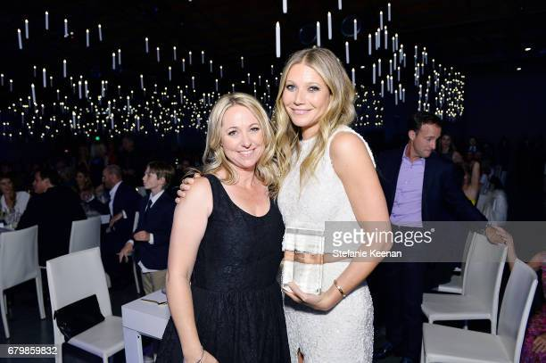 Honoree Gwyneth Paltrow and Amy Wilcox attend UCLA Mattel Children's Hospital presents Kaleidoscope 5 on May 6 2017 in Culver City California