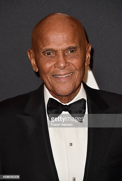 Honoree Harry Belafonte attends the Academy Of Motion Picture Arts And Sciences' 2014 Governors Awards at The Ray Dolby Ballroom at Hollywood...