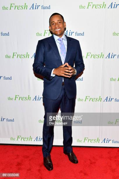 Honoree Hill Harper attends the 2017 Fresh Air Fund Spring Benefit at Pier Sixty at Chelsea Piers on June 1 2017 in New York City