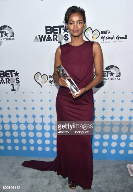 Honoree Ilwad Elman attends the 2017 BET International Awards Presentation at Microsoft Theater on June 24 2017 in Los Angeles California