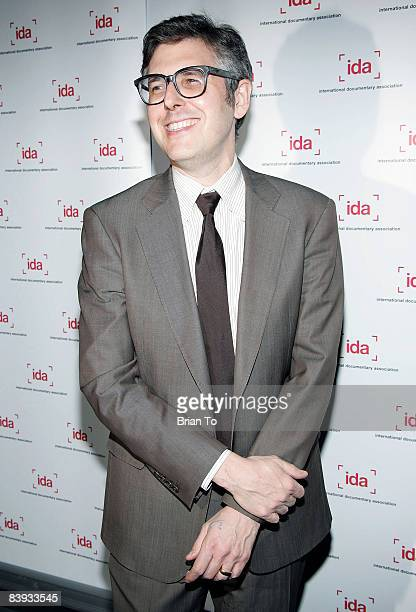Honoree Ira Glass arrives at the 24th Annual International Documentary Association Awards Ceremony at the Director's Guild of America on December 5...
