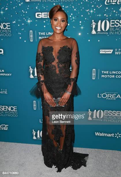 Honoree Issa Rae at Essence Black Women in Hollywood Awards at the Beverly Wilshire Four Seasons Hotel on February 23 2017 in Beverly Hills California