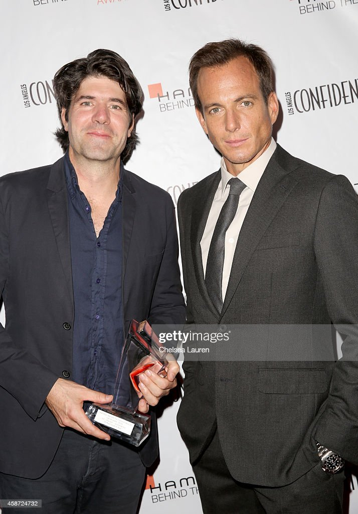 Honoree J. C. Chandor (L) and actor <a gi-track='captionPersonalityLinkClicked' href=/galleries/search?phrase=Will+Arnett&family=editorial&specificpeople=209259 ng-click='$event.stopPropagation()'>Will Arnett</a> attend The 2014 Hamilton Behind the Camera Awards presented by Hamilton Watch and LA Confidential at The Wilshire Ebell Theatre on November 9, 2014 in Los Angeles, California.